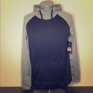 NWT Nike women's Therma Dri-Fit Black hoodie Large